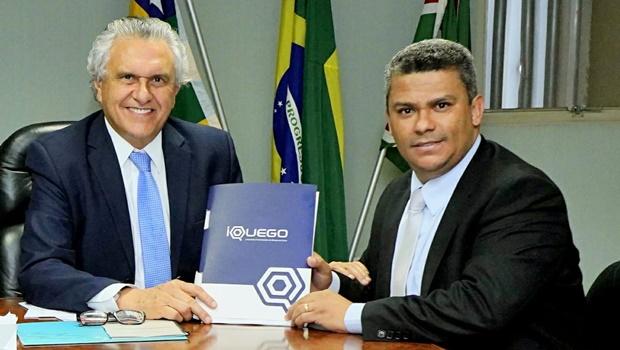 Presidente da Iquego apresenta plano de recuperação da empresa ao governador