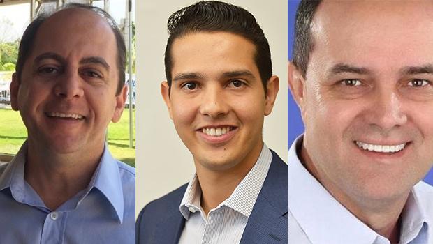 Pré-candidatos eleições 2020 em Itumbiara: Humberto Machado e Vinícius Luz.