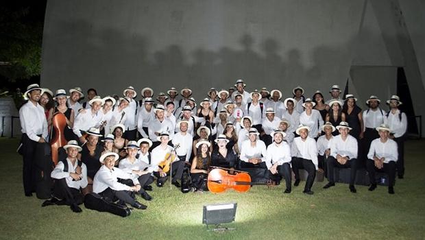 Orquestra Sinfônica Jovem de Goiás faz ensaio aberto ao público para festival em Trancoso