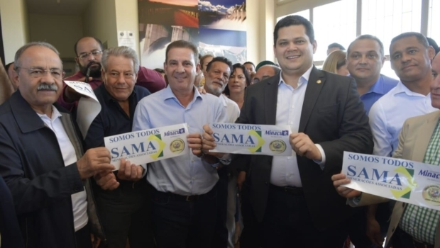 Alcolumbre defende reabertura de mineradora em Minaçu