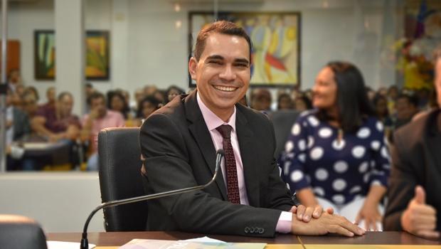 Vereador de Palmas Claudemir Portugal | Foto:   Aline Batista / Câmara de Palmas