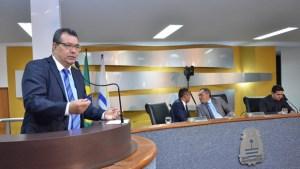 Lúcio Campelo, vereador de Palmas   Foto: Aline Batista / Câmara de Vereadores