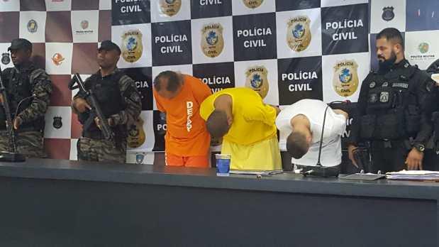 Grupo preso pela Polícia Civil de Goiás guardava armamentos para membros de facções | Foto: SSPGO