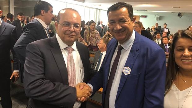 Prefeito de Águas Lindas e Ibaneis pedem aprovação da Região Metropolitana de Brasília