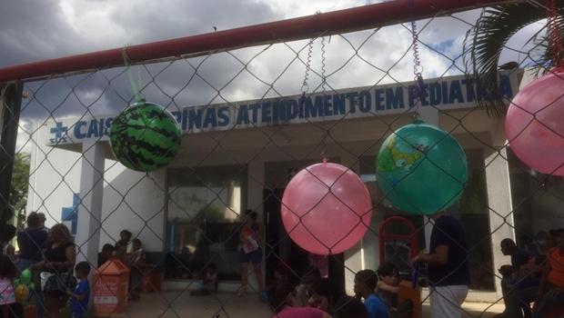 Na pediatria do Cais de Campinas, espera é de mais de 6 horas