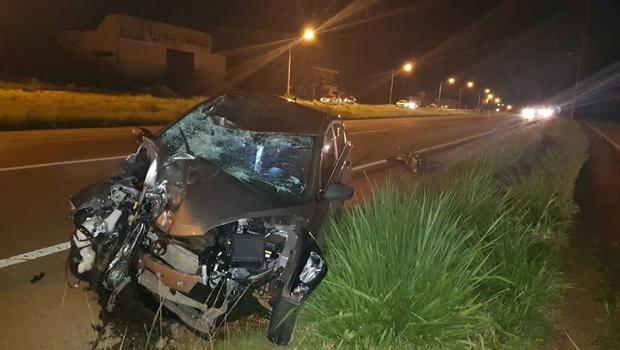 Acidente na BR 060, em Guapó, mata pai e filha de cinco anos