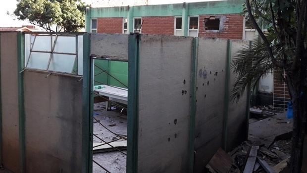 Obras do Ciams Jardim América continuam longe do fim / Foto: Reprodução