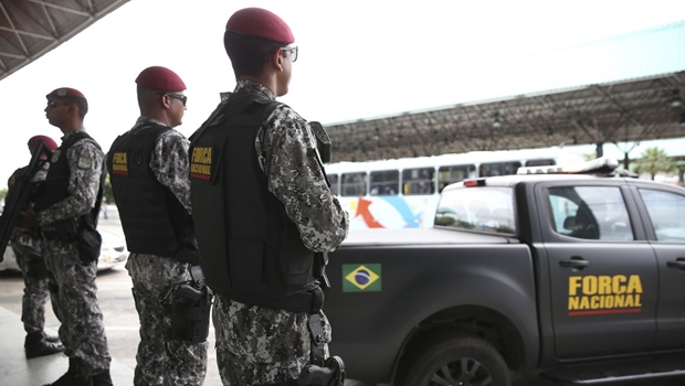 Força Nacional é autorizada a atuar no combate à criminalidade em Goiás e outros quatro estados