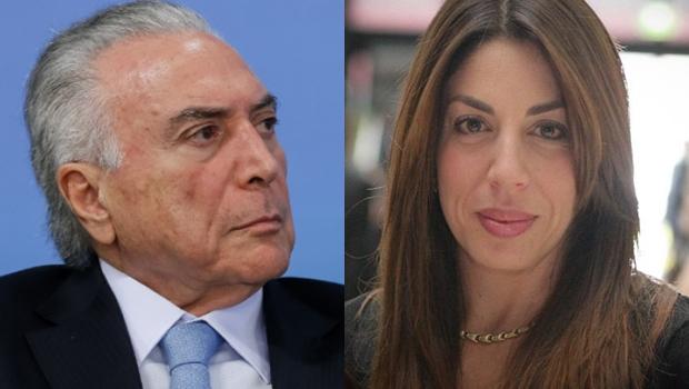 Ex-presidente Michel Temer (MDB) e sua filha Maristela Temer / Foto: Divulgação/colagem