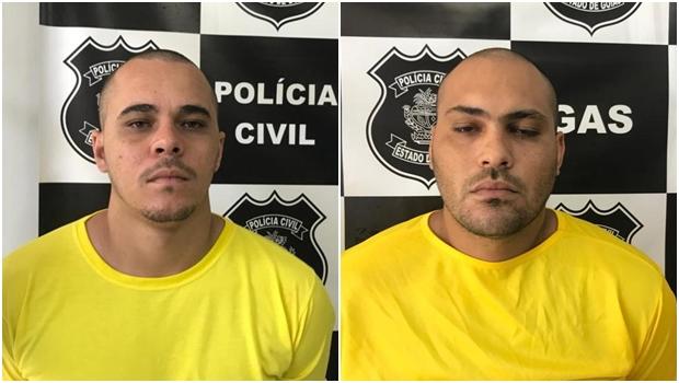 Os motoristas de aplicativo Luis Fernando dos Santos e Maitherson Oliveira Silva foram contratados pelo casala para cometer o crime_JornalOpção