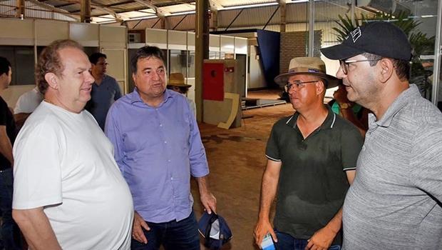 Carlesse e Halum visitaram a feira Agrotins no domingo   Foto: Esequias Araújo / Setom-TO