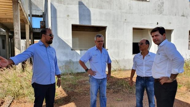 Obras do Hospital Geral de Gurupi serão retomadas