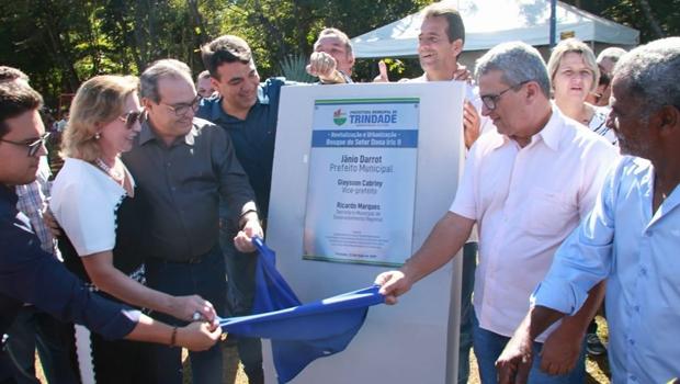 Jânio Darrot inaugura revitalização e urbanização do bosque do setor Dona Iris II