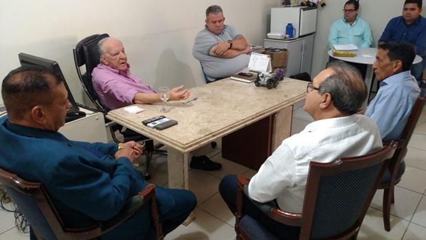 Jânio Darrot convida Adhemar Santillo para comandar o diretório do PSDB em Anápolis