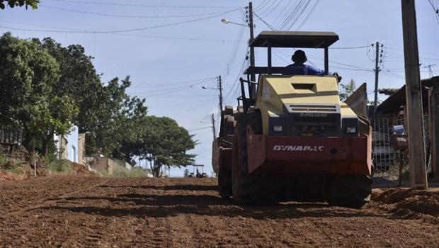 Prefeitura de Aparecida inicia obras de pavimentação no Setor Pontal Sul