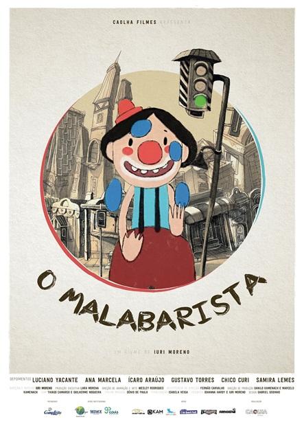 O Malabarista - Cartaz (Português) - 300 dpi