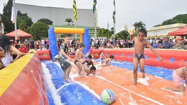 Praça Cívica oferece atividades gratuitas no domingo