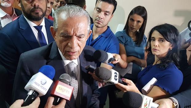 Iris Rezende disse ser impossível candidatar-se à reeleição em 2020