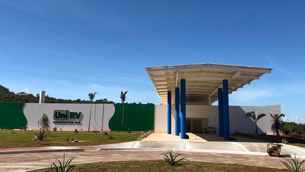 Reitor da UniRV, Professor Tatão entrega moderno prédio do Câmpus Goianésia