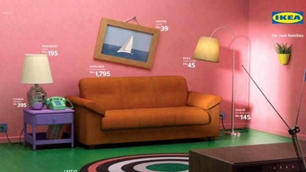 """Loja de móveis disponibiliza itens de """"Os Simpsons"""", """"Friends"""" e """"Stranger Things"""""""