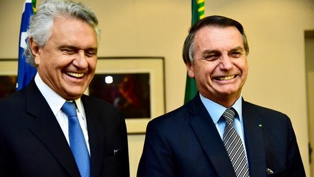 Caiado diz que nunca teve divergência com Bolsonaro