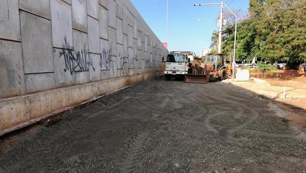 Anápolis: Obra no viaduto da Avenida Brasil está praticamente concluída
