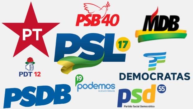 Fundo Partidário terá aumento de mais de 85% em relação às eleições de 2018, segundo proposta incluída na Lei de Diretrizes Orçamentárias