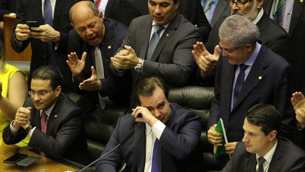 Rodrigo Maia choro Reforma da Previdência - Foto Fabio Rodrigues Pozzebom Agência Brasil