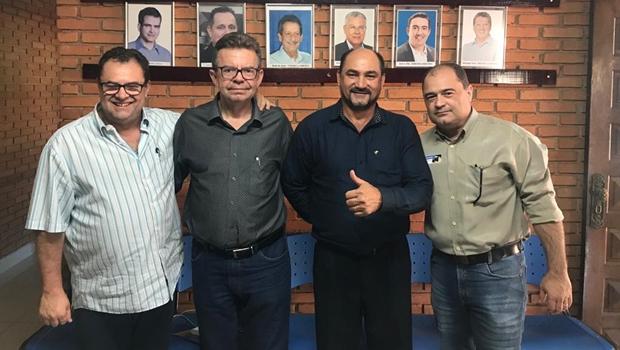"""""""Vou para a reeleição"""", anuncia o tucano Adalberto Amorim, prefeito de Paranaiguara"""
