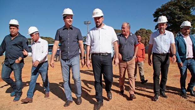 Começa a reforma do Estádio Annibal Batista de Toledo, em Aparecida de Goiânia