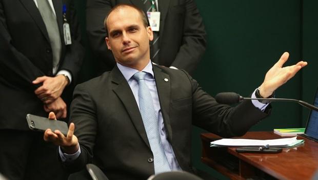 Eduardo Bolsonaro está confiante com aprovação de seu nome para embaixada