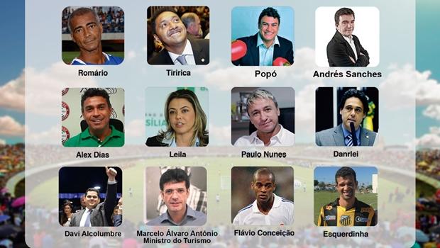 Futebol Solidário reúne craques, pernas-de-pau e celebridades em Palmas