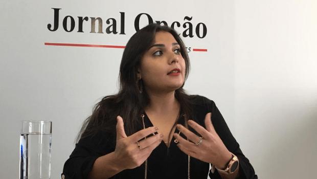 Representante da oposição na Câmara, vereadora Sabrina Garcez (sem partido) tem como possibilidade acompanhar Vanderlan em filiação ao PSD ou migrar para o PDT