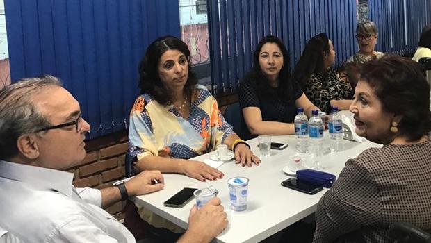 Pré-candidata à Prefeitura de Goiânia, Dra. Cristina recebe garantia de que PSDB terá candidatura própria