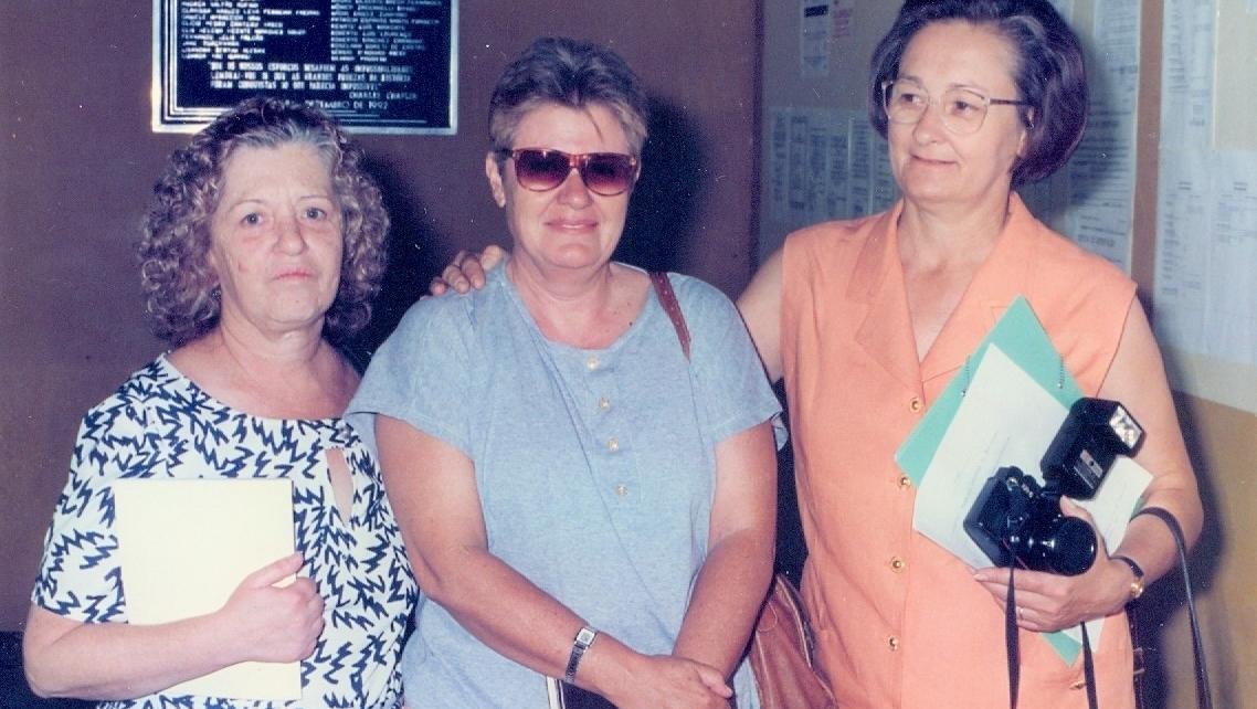 Três discípulas no caminho de Casais Monteiro