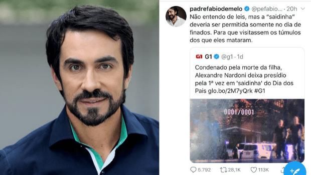 Fábio de Melo cita depressão ao sair do Twitter após sofrer ataque