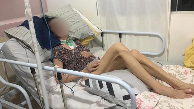 Família de idosa acamada teme redução do tempo de acompanhamento técnico pelo Ipasgo