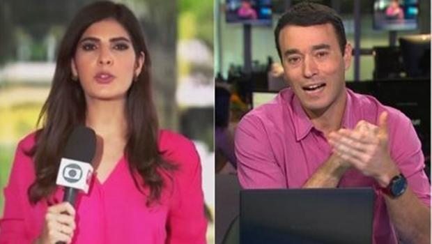 Leo Dias diz que Andreia Sadi e André Rizek são namorados