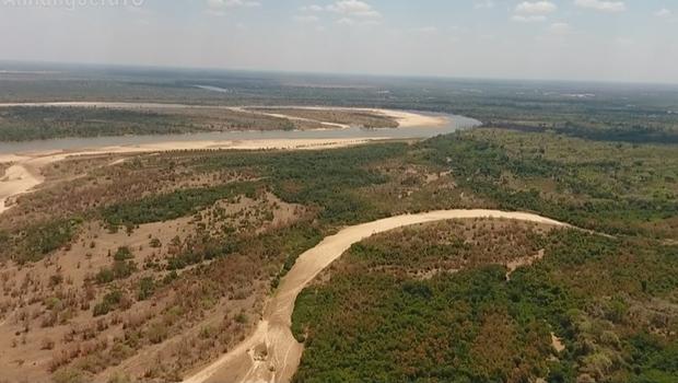 Maior ilha fluvial do mundo, Ilha do Bananal sofre com a seca