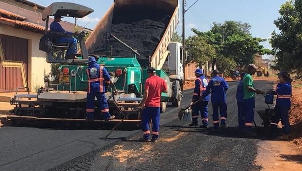 Prefeitura lança pavimentação do Residencial Park Solar no valor de R$ 5,4 milhões