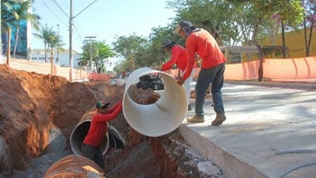 Trecho da Av Goiás será liberado e outro será interditado para nova etapa do BRT