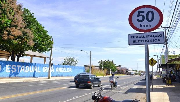 Aparecida registra queda de 66% nos acidentes na Avenida Independência