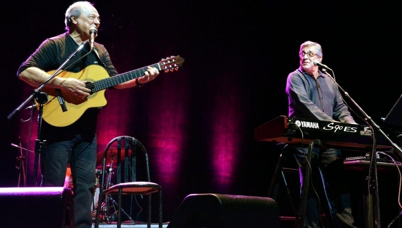 Show de Toquinho e Ivan Lins em Goiânia nesta sexta-feira