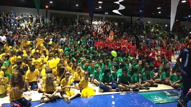 Sesc Cidadania dá inicio ao 16º Jicesc, jogos internos com participação de mais de mil alunos