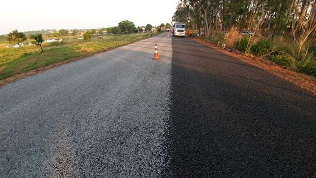 Rodovias do Estado são pavimentadas em força-tarefa