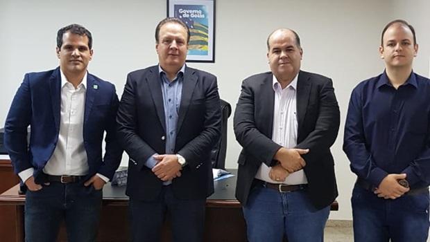 Sob comando de Ênio Caiado, nova diretoria da Goiás Parcerias toma posse