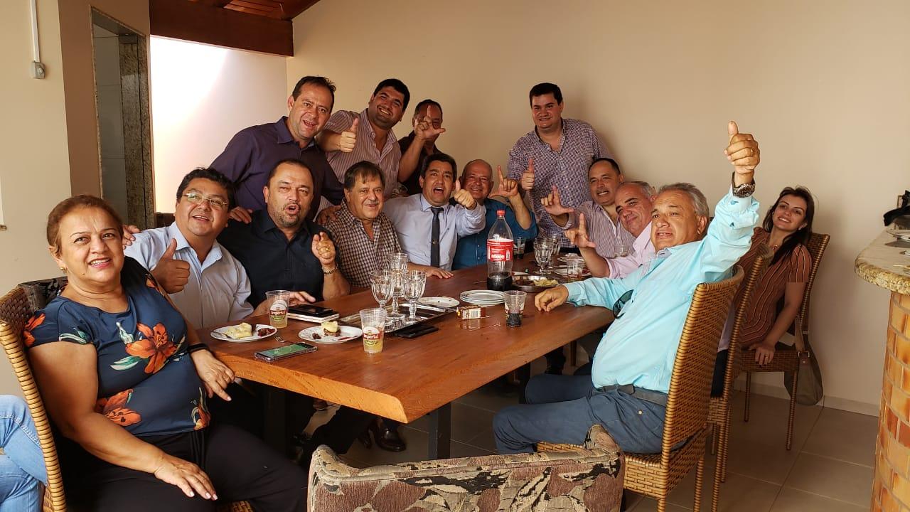 13 vereadores vão apoiar Juraci Martins pra prefeito de Rio Verde. A cidade tem 21