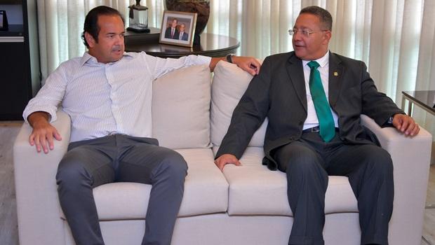 Novo Secretário da Indústria e Comércio, Tom Lyra se reúne com o presidente da Fieto
