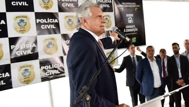 """""""Não existe milícia em Goiás"""", diz governador"""