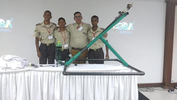 Estudantes da rede estadual goiana ganham prêmio da 25ª Jornada de Foguetes